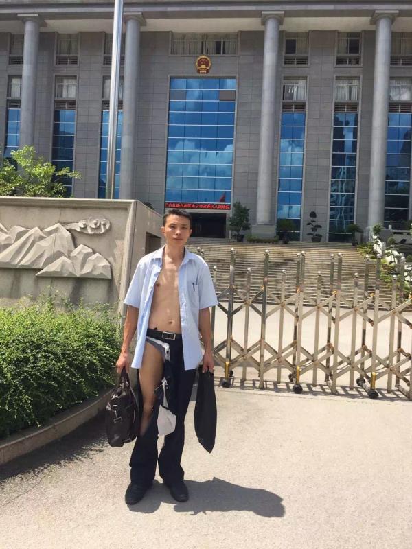吴良述律师被殴打